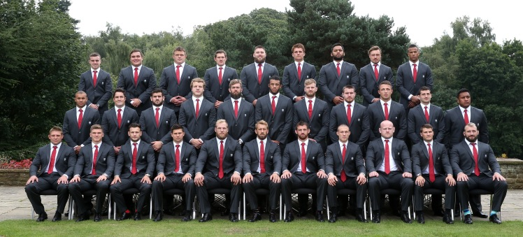 The England Squad for the 2015 Rugby World Cup © David Rogers - RFU/The RFU Collection via Getty Images